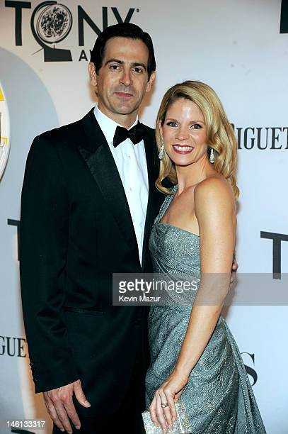Actress Kelli O'Hara and Greg Naughton attend the 66th Annual Tony Awards at The Beacon Theatre on June 10 2012 in New York City