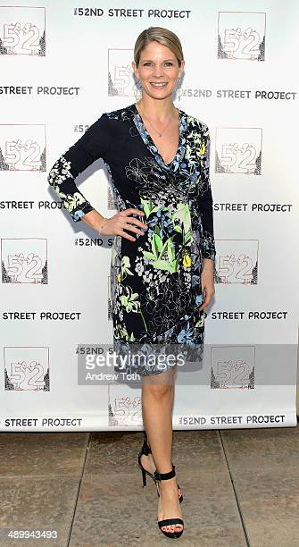 Actress Kelli O'Hara attends the 52nd Street Project 2014 Benefit at Tribeca Rooftop on May 12 2014 in New York City