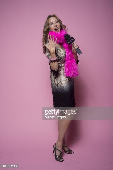 Actress Kellie Koppel poses for a portrait at the Mark Kearney Group 'Iced Out' Luxury Emmy Suite on September 20 2013 in Los Angeles California