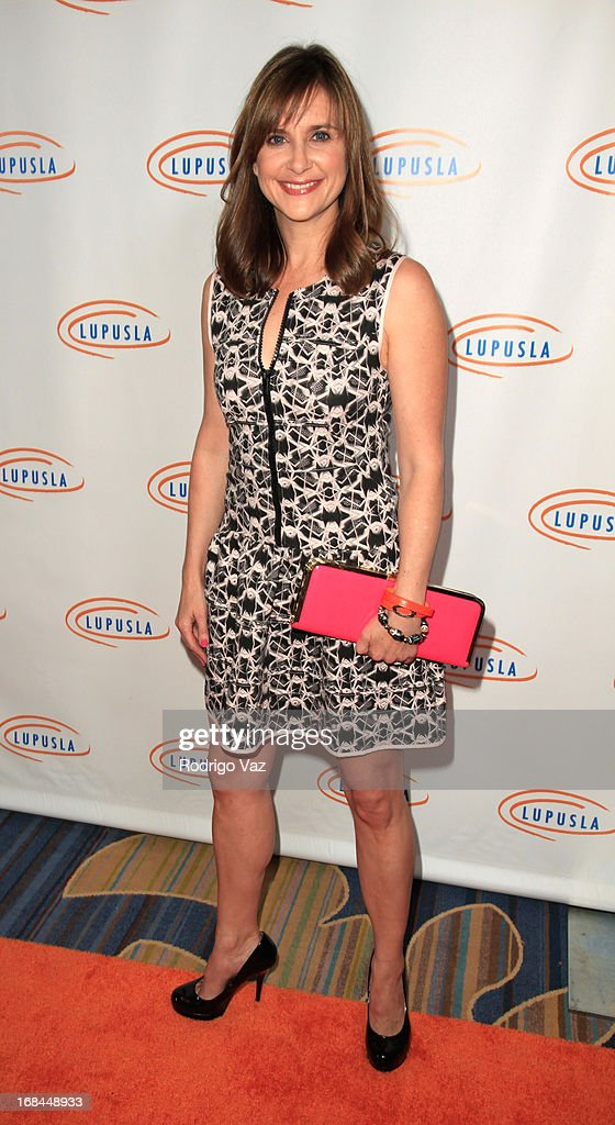 Actress Kellie Martin arrives at the 13th Annual Lupus LA Orange Ball at the Beverly Wilshire Four Seasons Hotel on May 9, 2013 in Beverly Hills, California.