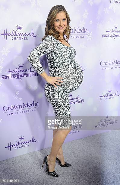 Actress Kellie Martin arrives at the Hallmark Channel and Hallmark Movies and Mysteries Winter 2016 TCA Press Tour at Tournament House on January 8...
