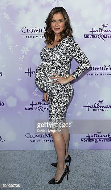 Actress Kellie Martin attends the Hallmark Channel and Hallmark Movies and Mysteries Winter 2016 TCA press tour at Tournament House on January 8 2016...