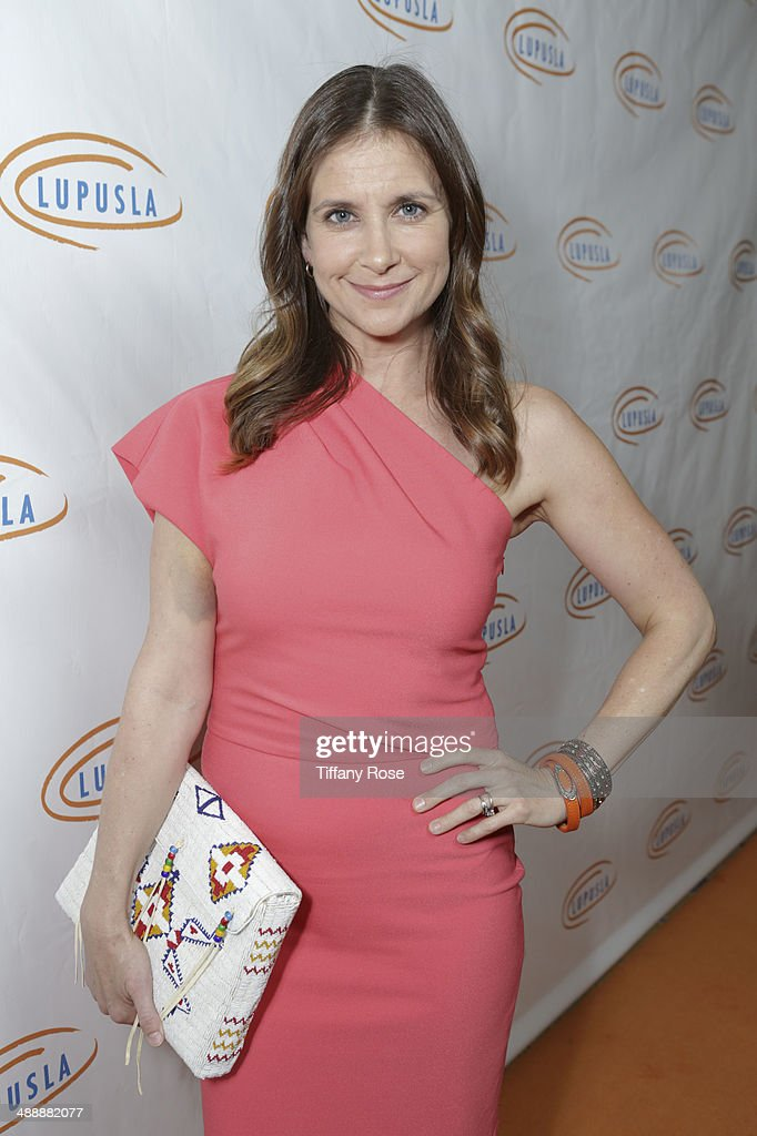 Actress Kellie Martin attends the Lupus LA Orange Ball on May 8, 2014 in Beverly Hills, California.