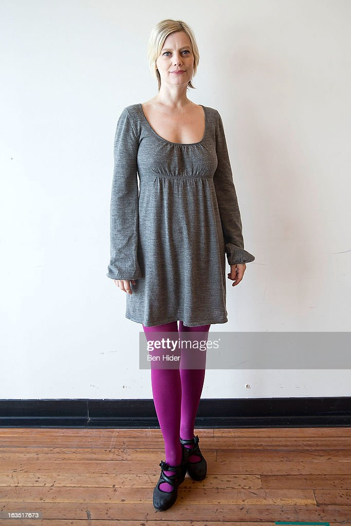 Actress Kellie Overbey attends the 'Sleeping Rough' Cast Photo Call at Playwrights Horizon's North Rehearsal Studio on March 11, 2013 in New York City.