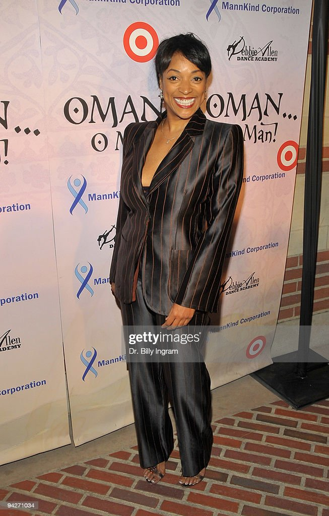 Actress Kellita Smith arrives at Debbie Allen's 'OMAN Oh Man' Opening Night Gala at Royce Hall UCLA on December 10 2009 in Westwood California