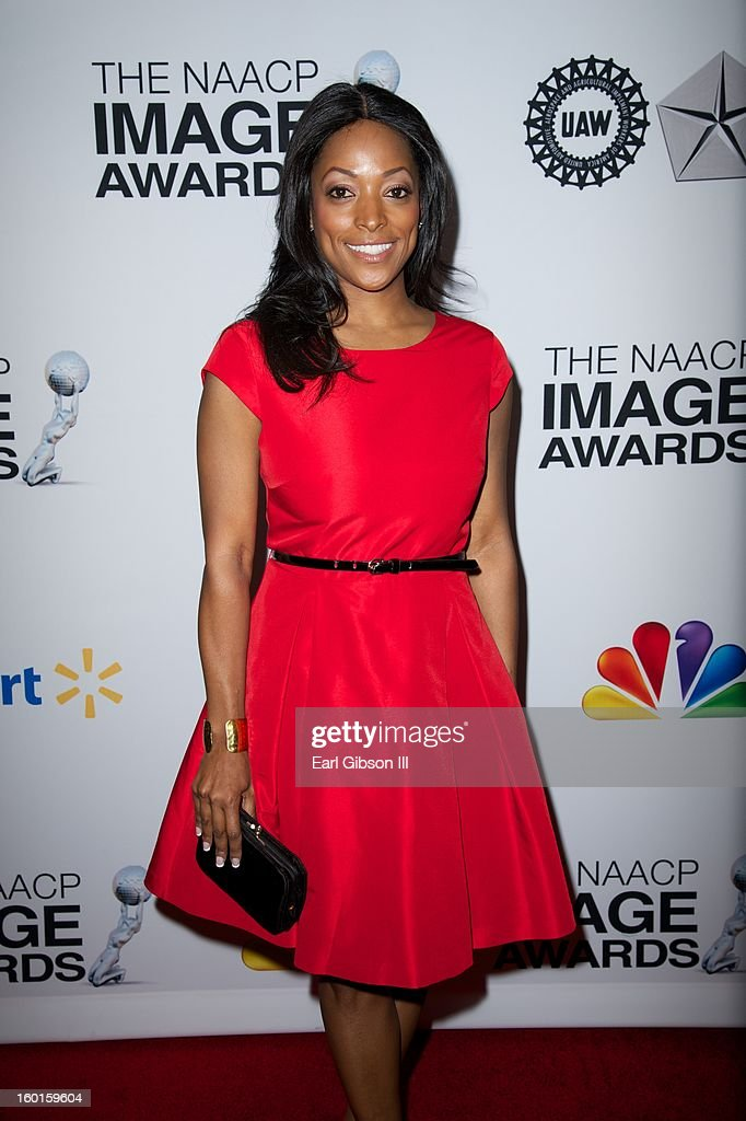 Actress Kellita Smith attends the NAACY Image Awards Nominee's Luncheon at Montage Beverly Hills on January 26, 2013 in Beverly Hills, California.