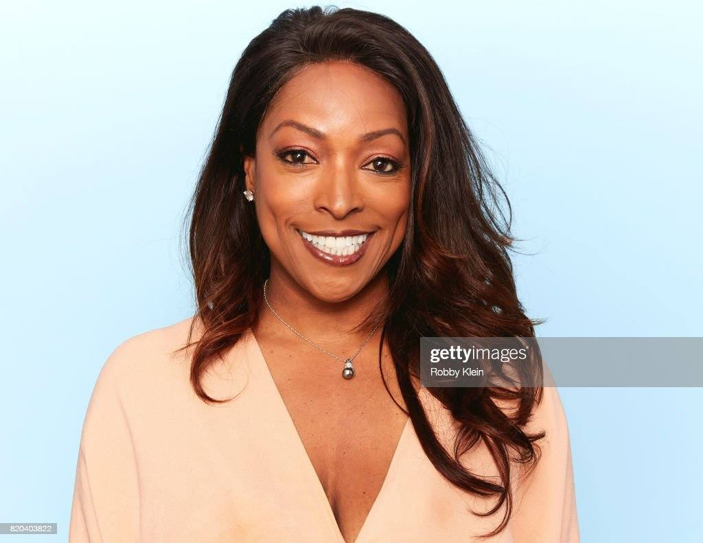 Actress Kellita Smith of SyFy's 'Z Nation' poses for a portrait during Comic-Con 2017 at Hard Rock Hotel San Diego on July 20, 2017 in San Diego, California.