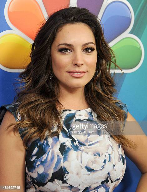 Actress Kelly Brook arrives at day 2 of the NBCUniversal 2015 Press Tour at The Langham Huntington Hotel and Spa on January 16 2015 in Pasadena...