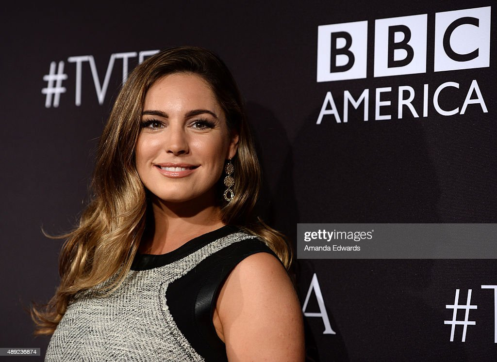Actress Kelly Brook arrives at the BAFTA Los Angeles TV Tea 2015 at the SLS Hotel on September 19, 2015 in Beverly Hills, California.