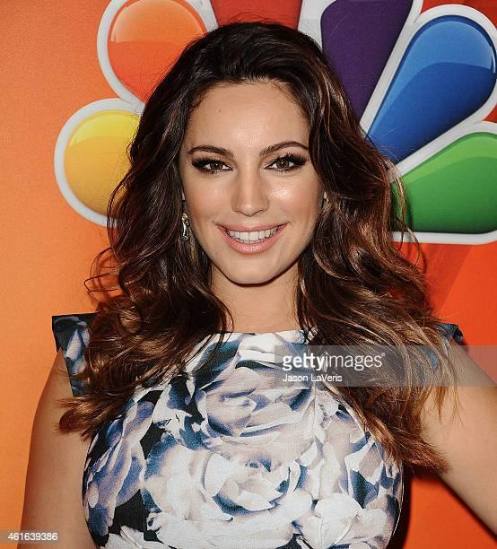 Actress Kelly Brook attends the NBCUniversal 2015 press tour at The Langham Huntington Hotel and Spa on January 16 2015 in Pasadena California