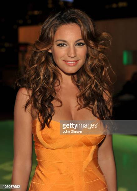 Actress Kelly Brook attends the Pirahna 3D 'Too Hot For ComicCon' party sponsored by Real D 3D and Svedka Vodka held at At The Se San Diego Siren...