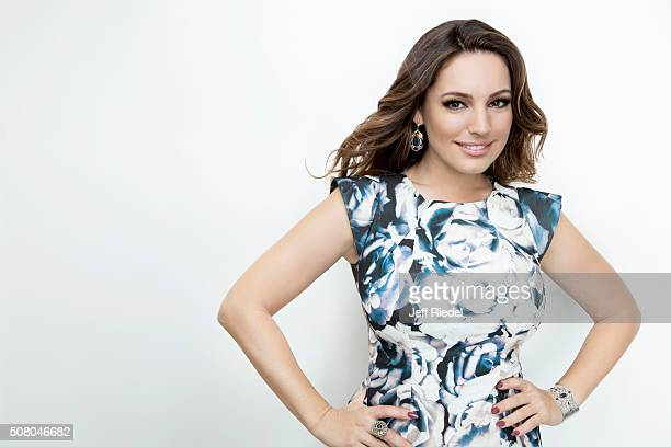 Actress Kelly Brook is photographed for TV Guide Magazine on January 16 2015 in Pasadena California