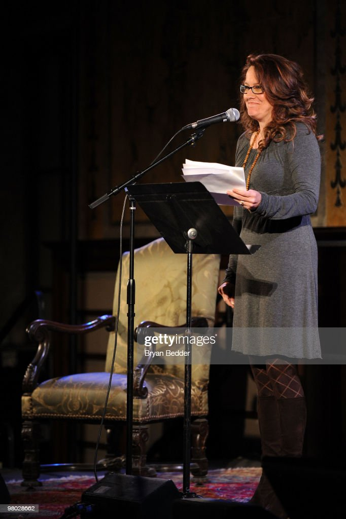 Actress Kelly Carlin attends the George Carlin Tribute hosted by Whoopi Goldberg at the New York Public Library - Celeste Bartos Forum on March 24, 2010 in New York City.