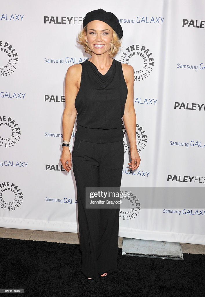 Actress Kelly Carlson attends the PaleyFest Icon Award 2013 held at The Paley Center for Media on February 27, 2013 in Beverly Hills, California.
