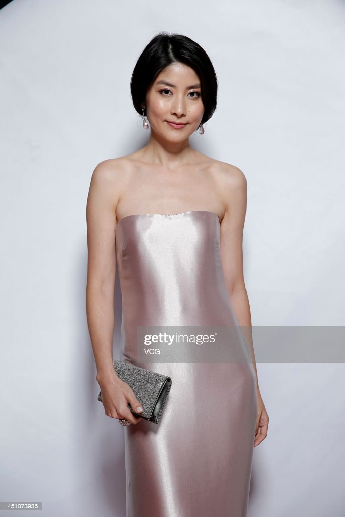 Actress Kelly Chen attends closing and award ceremony of 17th Shanghai International Film Festival at Shanghai Grand Theatre on June 22, 2014 in Shanghai, China.