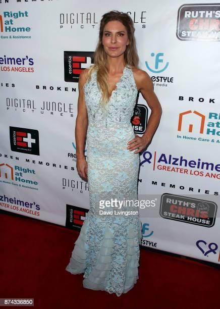 Actress Kelly Greyson attends a benefit screening of Digital Jungle Pictures' 'Broken Memories' at the Writers Guild Theater on November 14 2017 in...