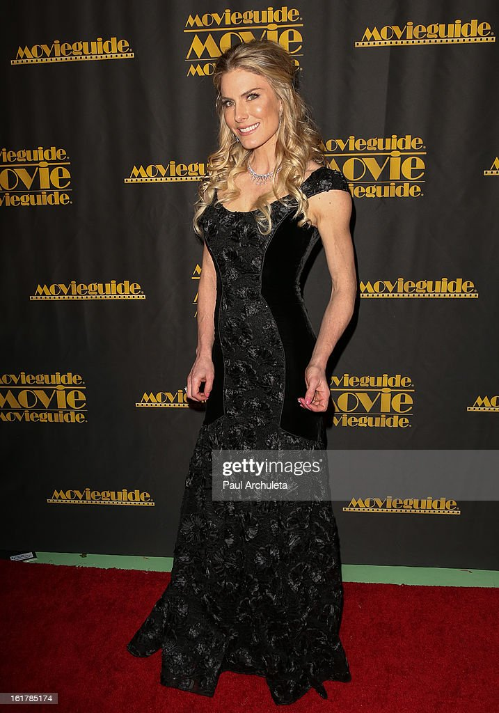 Actress Kelly Greyson attends the 21st annual Movieguide Awards at Hilton Universal City on February 15, 2013 in Universal City, California.