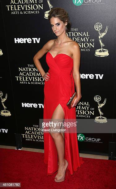 Actress Kelly Kruger attends the 41st Annual Daytime Emmy Awards at The Beverly Hilton Hotel on June 22 2014 in Beverly Hills California