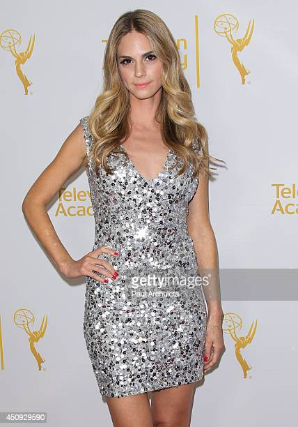 Actress Kelly Kruger attends the Daytime Emmy Nominee Reception at The London West Hollywood on June 19 2014 in West Hollywood California