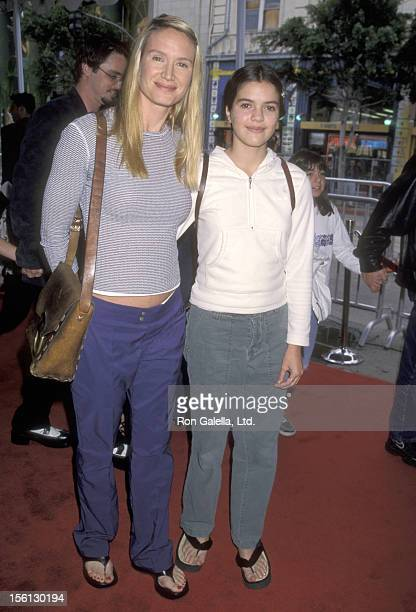 Actress Kelly Lynch and daughter Shane Glazer attend 'The Rugrats Movie' Hollywood Premiere on November 8 1998 at Mann's Chinese Theatre in Hollywood...