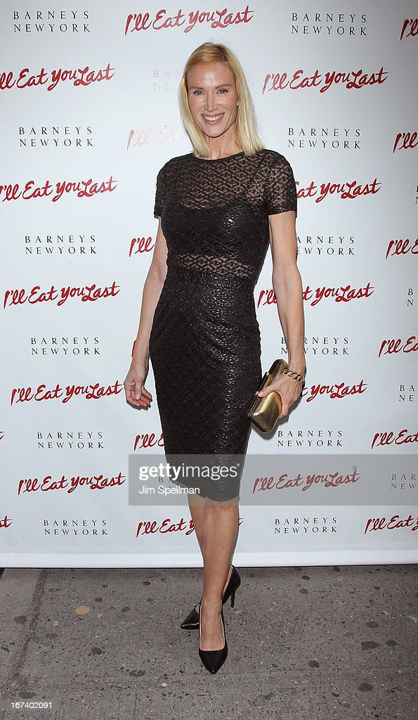Actress Kelly Lynch attends the 'I'll Eat You Last' Broadway Opening Night at the Booth Theatre on April 24, 2013 in New York City.