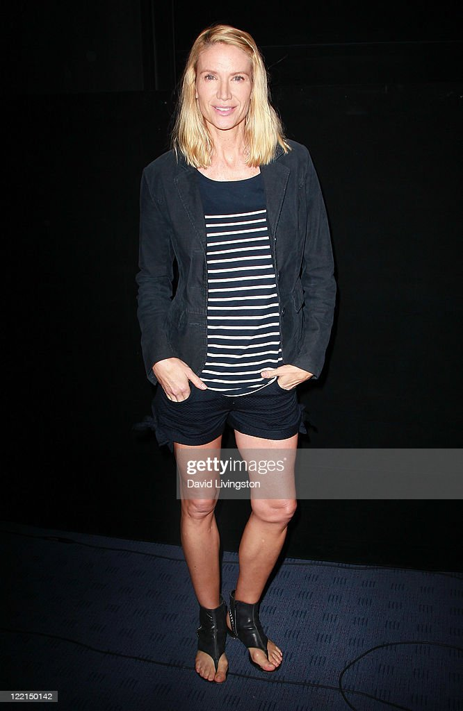 Actress Kelly Lynch attends the Los Angeles premiere of 'The Casserole Club' presented by the American Cinematheque at the Egyptian Theatre on August 25, 2011 in Hollywood, California.