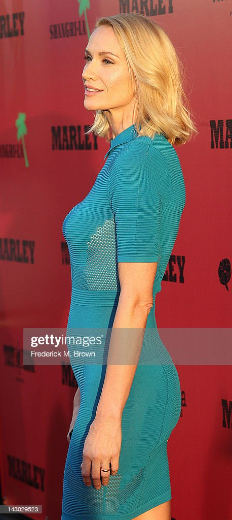 Actress Kelly Lynch attends the Premiere of Magnolia Pictures' 'Marley' at the ArcLight Hollywood on April 17, 2012 in Hollywood, California.