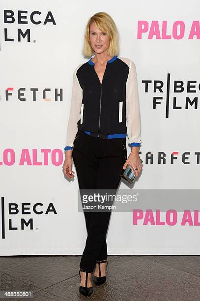Actress Kelly Lynch attends the premiere of Tribeca Film's 'Palo Alto' at Directors Guild Of America on May 5 2014 in Los Angeles California