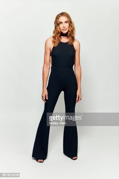 Actress Kelly Lynch from ATT AUDIENCE's 'Mr Mercedes' poses for a portrait during ComicCon 2017 at Hard Rock Hotel San Diego on July 23 2017 in San...