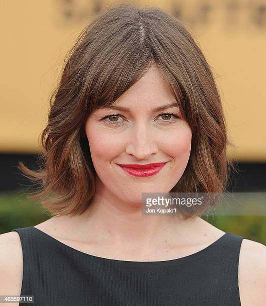 Actress Kelly Macdonald arrives at the 21st Annual Screen Actors Guild Awards at The Shrine Auditorium on January 25 2015 in Los Angeles California