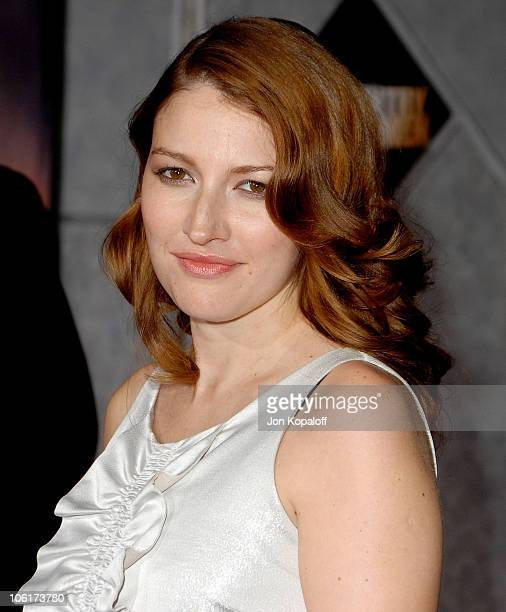 Actress Kelly Macdonald arrives at the premiere of Miramax Films' 'No Country For Old Men' held at the El Capitan Theater on November 4 2007 in...