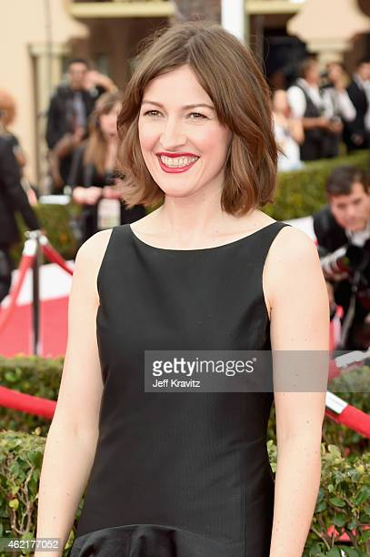 Actress Kelly Macdonald attends the 21st Annual Screen Actors Guild Awards at The Shrine Auditorium on January 25 2015 in Los Angeles California