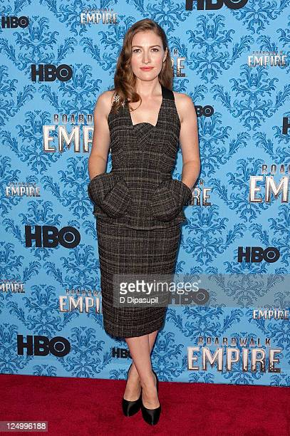 Actress Kelly Macdonald attends the 'Boardwalk Empire' Season 2 premiere at the Ziegfeld Theater on September 14 2011 in New York City