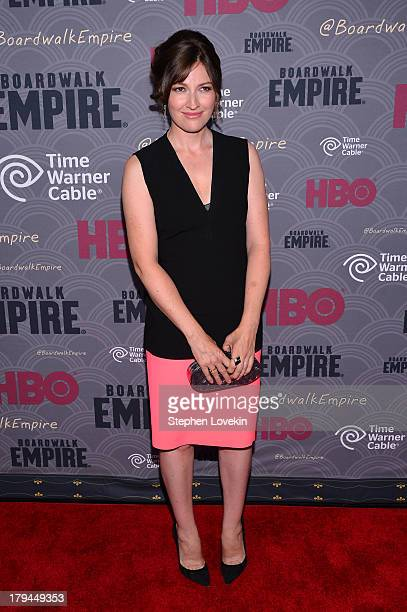 Actress Kelly Macdonald attends the 'Boardwalk Empire' season four New York premiere at Ziegfeld Theater on September 3 2013 in New York City
