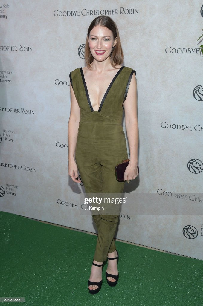 Actress Kelly Macdonald attends the 'Good Bye Christopher Robin' New York Special Screening at The New York Public Library on October 11, 2017 in New York City.