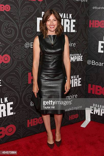 Actress Kelly Macdonald attends the premiere of the final season of 'Boardwalk Empire' at Ziegfeld Theatre on September 3 2014 in New York City