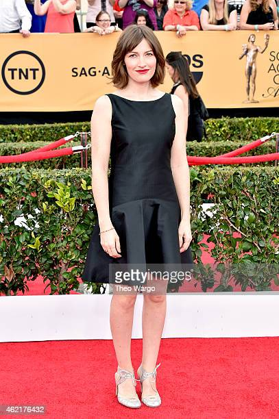 Actress Kelly Macdonald attends TNT's 21st Annual Screen Actors Guild Awards at The Shrine Auditorium on January 25 2015 in Los Angeles California...