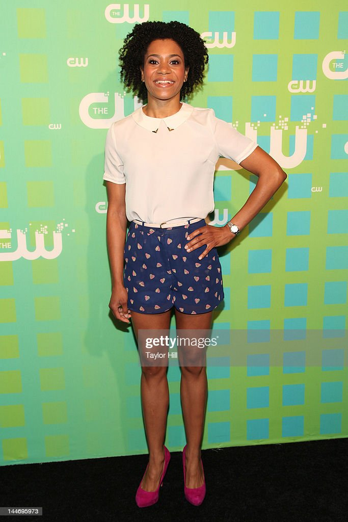 Actress Kelly McCreary attends The CW Network's New York 2012 Upfront at New York City Center on May 17, 2012 in New York City.