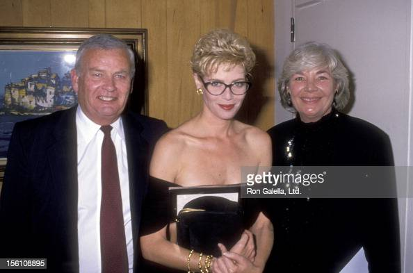 Actress Kelly McGillis and parents Don Gillis and Joan McGillis attend the Los Angeles Cahpter of the National Organization for Women's Courage...