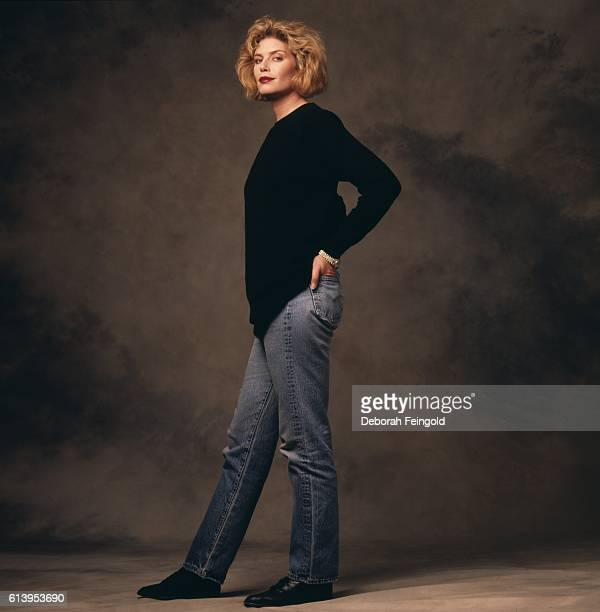 Actress Kelly McGillis March 1988 in Washington DC