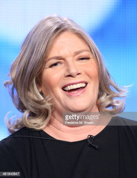 Actress Kelly McGillis speaks onstage during the 'Love Finds You in Sugar Creek Ohio' panel discussion at the UP portion of the 2014 Winter...