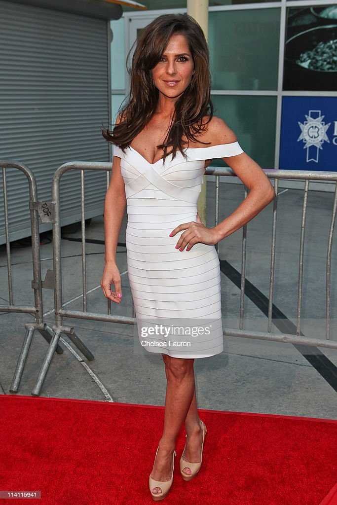 Actress Kelly Monaco arrives at the 'Skateland' premiere at ArcLight Cinemas on May 11 2011 in Hollywood California