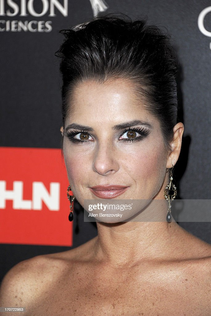 Actress <a gi-track='captionPersonalityLinkClicked' href=/galleries/search?phrase=Kelly+Monaco&family=editorial&specificpeople=3958054 ng-click='$event.stopPropagation()'>Kelly Monaco</a> attends 40th Annual Daytime Entertaimment Emmy Awards - Arrivals at The Beverly Hilton Hotel on June 16, 2013 in Beverly Hills, California.