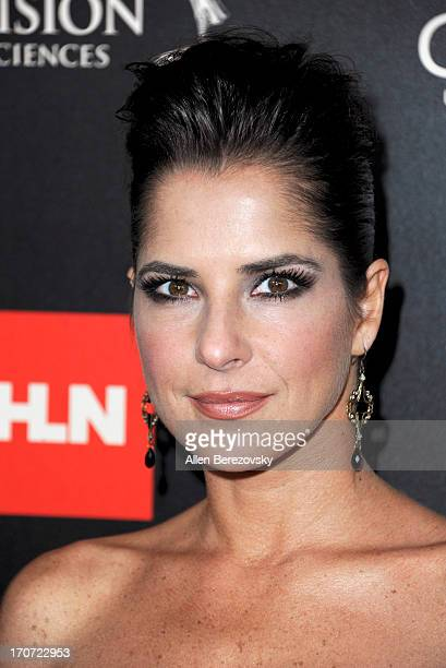 Actress Kelly Monaco attends 40th Annual Daytime Entertaimment Emmy Awards Arrivals at The Beverly Hilton Hotel on June 16 2013 in Beverly Hills...