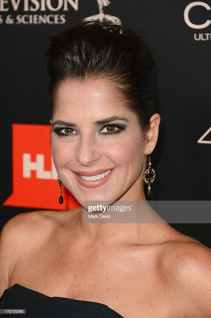 Actress Kelly Monaco attends The 40th Annual Daytime Emmy Awards at The Beverly Hilton Hotel on June 16, 2013 in Beverly Hills, California.