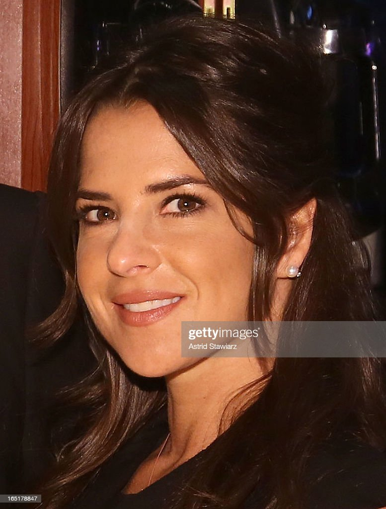 Actress Kelly Monaco of ABC's soap opera General Hospital rings the opening bell at the New York Stock Exchange on April 1, 2013 in New York City.