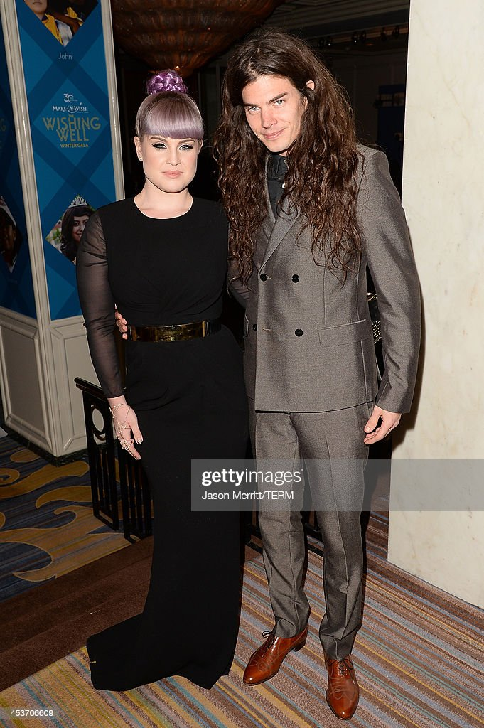 Actress Kelly Osbourne and Matthew Mosshart attend the Make-A-Wish Greater Los Angeles 30th Anniversary Gala on December 4, 2013 in Los Angeles, California.