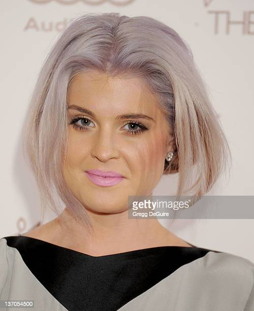 Actress Kelly Osbourne arrives at Art Of Elysium's 5th Annual Heaven Gala at Union Station on January 14 2012 in Los Angeles California