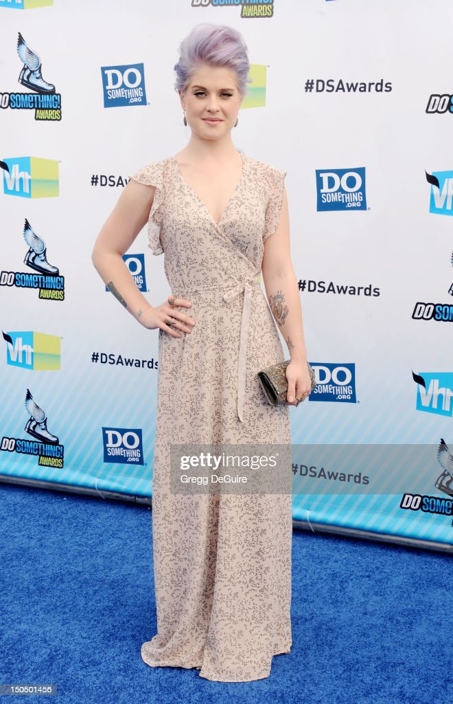Actress Kelly Osbourne arrives at the 2012 Do Something Awards at Barker Hangar on August 19 2012 in Santa Monica California