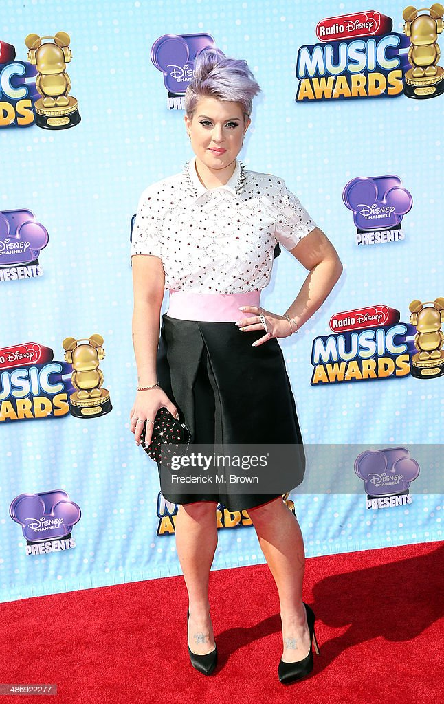 Actress <a gi-track='captionPersonalityLinkClicked' href=/galleries/search?phrase=Kelly+Osbourne&family=editorial&specificpeople=156416 ng-click='$event.stopPropagation()'>Kelly Osbourne</a> attends the 2014 Radio Disney Music Awards at the Nokia Theatre L.A. Live on April 26, 2014 in Los Angeles, California.